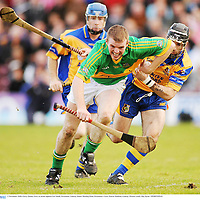 2 November 2008; Gerry Quinn, Gort, in action against Leo Smith, Portumna. Galway Senior Hurling Final, Portumna v Gort, Pearse Stadium, Galway. Picture credit: Ray Ryan / SPORTSFILE