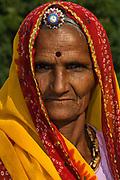 Rajasthani village woman. Pushkar, Rajasthan. INDIA