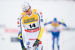 January 6, 2018 - Val Di Fiemme, ITALY - 180106 Daniel Rickardsson of Sweden competes in men's 15km mass start classic technique during Tour de Ski on January 6, 2018 in Val di Fiemme..Photo: Jon Olav Nesvold / BILDBYRÃ…N / kod JE / 160123 (Credit Image: © Jon Olav Nesvold/Bildbyran via ZUMA Wire)