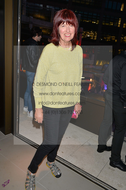 JANET STREET-PORTER at the launch of Broadgate Circle, City of London on 9th June 2015.