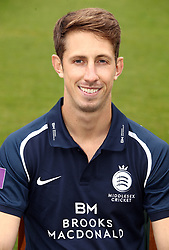 Middlesex's John Simpson during the media day at Lord's Cricket Ground, London.