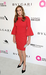 Caitlyn Jenner arriving at the Elton John Oscar Party held in Beverly Hills, Los Angeles, USA.