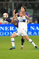 """Riccardo MONTOLIVO Fiorentina, Wesley SNEIJDER Inter<br /> Sabato 10/4/2010 Stadio """"Artemio Franchi""""<br /> Fiorentina Inter<br /> Campionato Italiano di Calcio Serie A 2009/2010<br /> Foto Andrea Staccioli Insidefoto"""