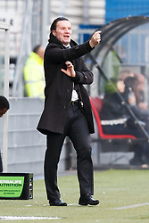 coach Stijn Vreven of NAC Breda during the Dutch Eredivisie match between sbv Excelsior Rotterdam and NAC Breda at Van Donge & De Roo stadium on February 11, 2018 in Rotterdam, The Netherlands