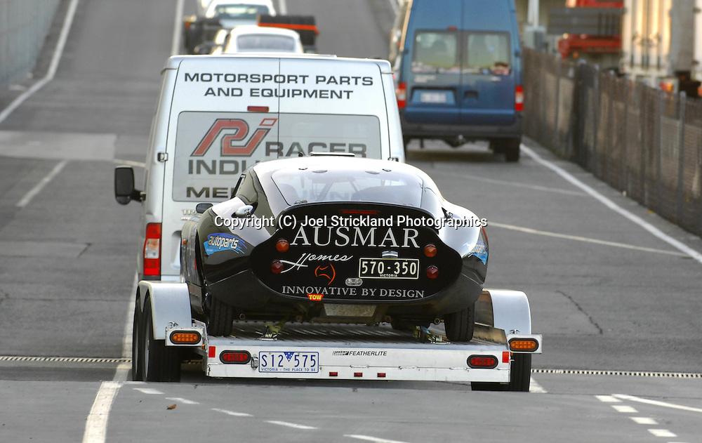 Tim Hendy & Jason Hendy.2005 Daytona Coupe .Arrive of the Spirit of Tasmania into Devonport .Pre Event.Targa Tasmania 2009.27th of April 2009.(C) Joel Strickland Photographics.