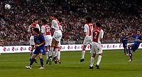 Photo: Daniel Hambury.<br />Ajax v Manchester United. Amsterdam Tournament. <br />05/08/2006.<br />Manchester's Ryan Giggs scores with this free kick. 0-1.