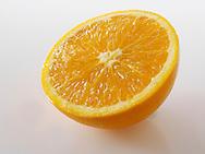 Fresh Orange halves