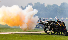 2017-06-02 41 gun salute in Hyde Park commemorates Queen Elizabeth II coronation