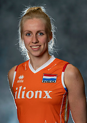 14-05-2019 NED: Photoshoot national volleyball team Women, Arnhem<br /> Anniek Siebring of Netherlands
