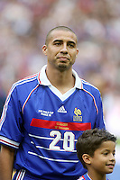 David TREZEGUET - 12.07.2008 - France 98 / Selection Mondiale - Celebration des 10ans de la victoire en Coupe du Monde 1998 - Stade de France - Photo : Olivier Andrivon / Icon Sport