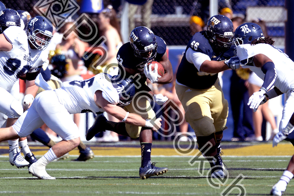 2014 November 01 - FIU running back Napoleon Maxwell (23). Florida International University fell to Rice, 31-17, at Ocean Bank Field, Miami, Florida. (Photo by: Alex J. Hernandez / photobokeh.com) This image is copyright by PhotoBokeh.com and may not be reproduced or retransmitted without express written consent of PhotoBokeh.com. ©2014 PhotoBokeh.com - All Rights Reserved