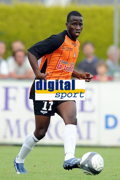 Fotball<br /> Frankrike<br /> Foto: DPPI/Digitalsport<br /> NORWAY ONLY<br /> <br /> FOOTBALL - FRIENDLY GAMES 2009/2010 - FC LORIENT v STADE BRESTOIS - 08/07/2009<br /> <br /> SIGAMARY DIARRA (LOR)