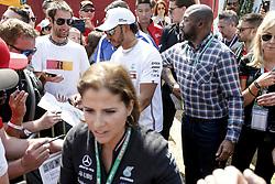 March 16, 2019 - Melbourne, Australia - Motorsports: FIA Formula One World Championship 2019, Grand Prix of Australia, ..#44 Lewis Hamilton (GBR, Mercedes AMG Petronas Motorsport) (Credit Image: © Hoch Zwei via ZUMA Wire)