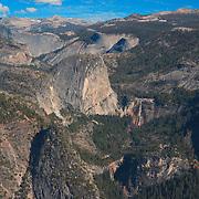 Liberty Cap - Nevada Falls - Vernal Falls - Glacier Point View - Yosemite