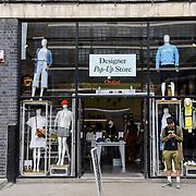 London, England, UK. 27 May 2019. Street Photography Designer Pop-Up Store around Liverpool Street, London, UK