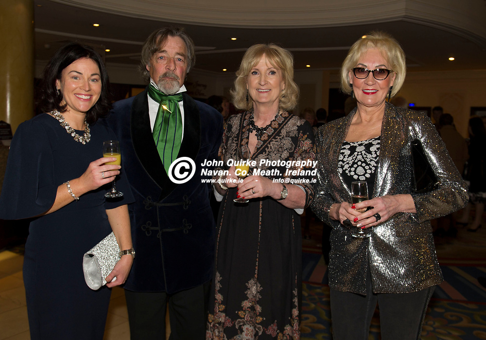 17-01-20. Meath Sports Awards 2019 at the Knightsbrook Hotel, Trim.<br /> L to R: Sandra McCann, Shane Bisgood, Mary McGuigan and Zita Collier.<br /> Photo: John Quirke / www.quirke.ie<br /> ©John Quirke Photography, Unit 17, Blackcastle Shopping Cte. Navan. Co. Meath. 046-9079044 / 087-2579454.