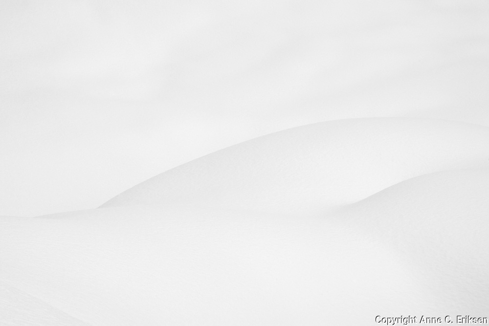 Shapes in snow