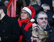 Sheffield Utd fans for gallery during the English League One match at Bramall Lane Stadium, Sheffield. Picture date: December 26th, 2016. Pic Simon Bellis/Sportimage