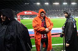 Photographers Primoz Lovric, Ziga Zivulovic during the 2020 UEFA European Championships group G qualifying match between Slovenia and Latvia at SRC Stozice on November 19, 2019 in Ljubljana, Slovenia. Photo by Vid Ponikvar / Sportida
