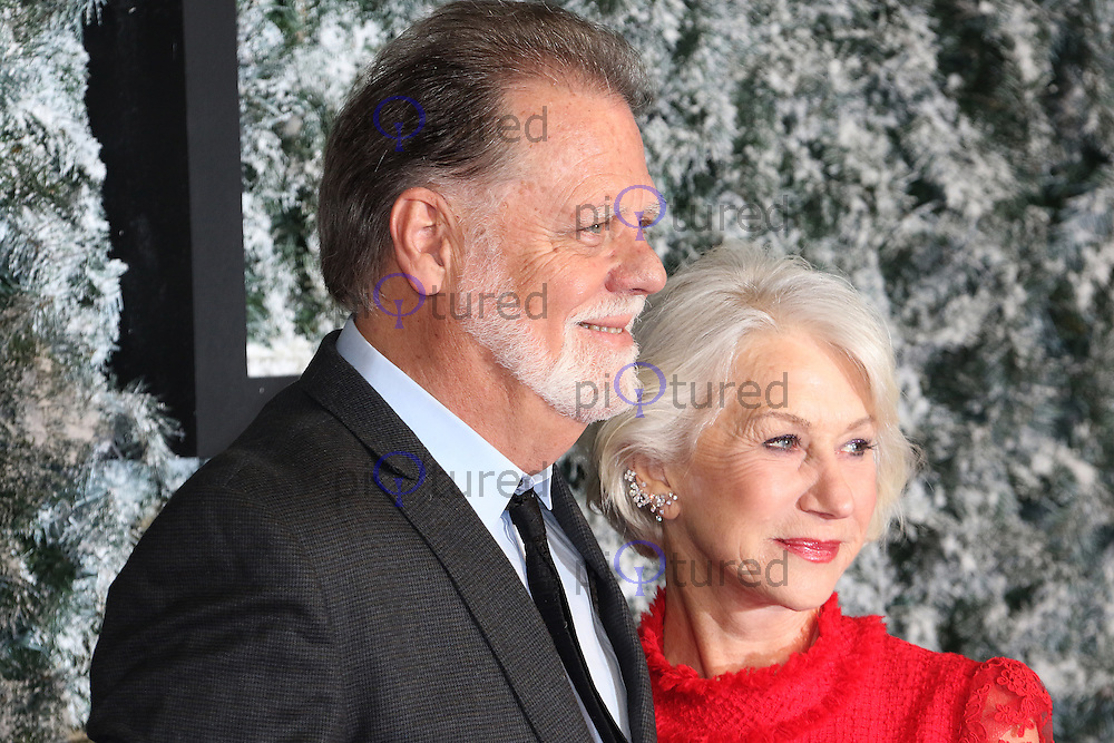 Taylor Hackford, Helen Mirren, Collateral Beauty - European film premiere, Leicester Square, London UK, 15 December 2016, Photo by Richard Goldschmidt
