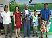 """THANKS TO INTERNET, POOR ELDERLY MAN BECOMES MILLIONAIRE<br /> <br /> BURIRAM — On Tuesday, 72-year-old Paen Paewpongsong was penniless after losing his 15,000 baht life savings. By Friday, he was a millionaire thanks to donations from strangers throughout the realm who heard about his plight from the news.<br /> The response was so overwhelming that Paen today urged netizens to stop sending him money, saying he already had enough to fix his dilapidated hovel in Buriram and provide comfort to his 69-year-old wife and a 6-year-old, developmentally disabled granddaughter.<br /> <br /> Find someone else in need, he suggested.<br /> <br /> """"I want them to share their help with other people who lack opportunity,"""" Paen told reporters.<br /> <br /> Paen said he lost his wallet containing all his savings of 15,000 baht on Tuesday at a hospital where he was renewing his disability health card for his granddaughter, Arisa, who has Down syndrome.<br /> <br /> According to Paen, that money was all they had left after collecting their small welfare benefits and an allowance his children send from another province.<br /> <br /> After word spread on social media, donations poured in from people who were moved by his story. By Friday morning the total reached just shy of 1.3 million baht, prompting Paen to say that was enough.<br /> <br /> In interviews, Paen has said he also hopes to use some of the money to fix his wooden house for the upcoming winter, which can be harsh and even fatal in the northeast.<br /> <br /> Bundit Onsakorn, chief of Buriram City police, said patrols have been dispatched to Paen's home in order to ward off any potential scammers who might take advantage of his newfound wealth."""