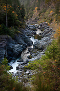 Image of a mountain stream in the Rogue River Valley, Oregon, Pacific Northwest by Randy Wells