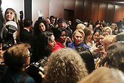 NEW YORK, NEW YORK- JANUARY 7: New York State Governor Andrew Cuomo and Former United States Secretary of State Hillary Clinton along with New York State Governor Kathy Hochul, Senate Majority Leader Stewart-Cousins and others Elected Officials rally to immediately pass the Reproductive Health Act within the first 30 days of legislative session held at Barnard College on January 7, 2019 in New York City. (Photo by Terrence Jennings/terrencejennings.com)