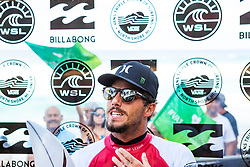 December 16, 2018 - Pupukea, Hawaii, U.S. - World Title contender Filipe Toledo (BRA) advances to Round 3 of the 2018 Billabong Pipe Masters and keeps his hopes alive for a maiden World Title after winning a close Heat 1 of Round 2. (Credit Image: © Kelly Cestari/WSL via ZUMA Wire)