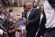 DESCRIZIONE : Campionato 2014/15 Dinamo Banco di Sardegna Sassari - Enel Brindisi<br /> GIOCATORE : Romeo Sacchetti<br /> CATEGORIA : Allenatore Coach Time Out<br /> SQUADRA : Dinamo Banco di Sardegna Sassari<br /> EVENTO : LegaBasket Serie A Beko 2014/2015<br /> GARA : Dinamo Banco di Sardegna Sassari - Enel Brindisi<br /> DATA : 27/10/2014<br /> SPORT : Pallacanestro <br /> AUTORE : Agenzia Ciamillo-Castoria / Luigi Canu<br /> Galleria : LegaBasket Serie A Beko 2014/2015<br /> Fotonotizia : Campionato 2014/15 Dinamo Banco di Sardegna Sassari - Enel Brindisi<br /> Predefinita :