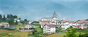 Basque village of Salvias, Basque Country, Spain