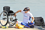 Caversham. United Kingdom;  Adaptive, AS Women's Single scull. Helene RAYNSFORD. Team GBR Rowing, 2010 World Championship Team Announcement at the GB rowing Training Base. Nr Reading Berks on Tuesday,  21/09/2010[Mandatory Credit Peter Spurrier/ Intersport Images], . Adaptive