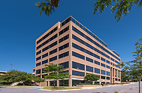 Galleria Towers exterior image in Towson Maryland by Jeffrey Sauers of Commercial Photographics, Architectural Photo Artistry in Washington DC, Virginia to Florida and PA to New England