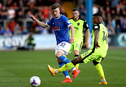 George Waring of Carlisle United passes the ball - Mandatory by-line: Robbie Stephenson/JMP - 14/05/2017 - FOOTBALL - Brunton Park - Carlisle, England - Carlisle United v Exeter City - Sky Bet League Two Play-off Semi-Final 1st Leg