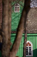 05.03.2013 wies Kruszyniany woj podlaskie We wsi zamieszkalej przez polskich Tatarow znajduje sie najstarszy polski meczet z pocz XVIII wieku N/z drewniany meczet fot Michal Kosc / AGENCJA WSCHOD