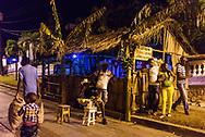 (They fix women in a bad state.)<br /> Street bar at Festival del Caribe<br /> Santiago de Cuba