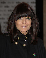 Claudia Winkleman Sky 3D - Women in Film and TV Awards, Hilton Hotel, Park Lane, London, UK, 03 December 2010:  Contact: Ian@Piqtured.com +44(0)791 626 2580 (Picture by Richard Goldschmidt)