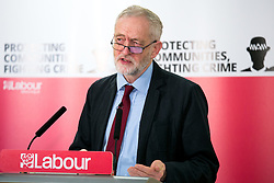 © Licensed to London News Pictures. 25/2/2016, Birmingham, UK. Labour Leader JEREMY CORBYN launching the Labour campaign for Police and Crime Commissioner Elections. Photo credit : Dave Warren/LNP
