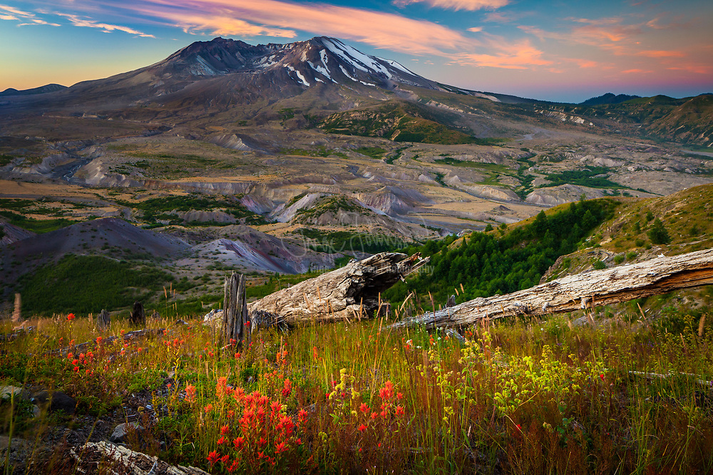 Mount St. Helens National Volcanic Monument is a U.S. National Monument that includes the area around Mount St. Helens in Washington. It was established on August 27, 1982 by U.S. President Ronald Reagan following the 1980 eruption of Mount St. Helens. The 110,000 acre National Volcanic Monument was set-aside for research, recreation, and education. Inside the Monument, the environment is left to respond naturally to the disturbance.