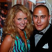 NLD/Amsterdam/20110713 - AIFW 2011 Summer, show Spijker & Spijker, Liza Sips en partner Joel Davans