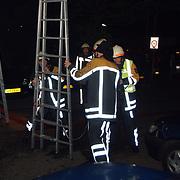Brand Eem Huizen, ladder