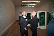 LARRY GAGOSIAN; MICHAEL CRAIG-MARTIN, Damien Hirst, Tate Modern: dinner. 2 April 2012.