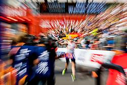 August 12, 2018 - Berlin, GERMANY - 180812 Koen Naert of Belgium crosses the finish line to win the men's marathon final during the European Athletics Championships on August 12, 2018 in Berlin..Photo: Vegard Wivestad GrÂ¿tt / BILDBYRN / kod VG / 170206 (Credit Image: © Vegard Wivestad Gr¯Tt/Bildbyran via ZUMA Press)