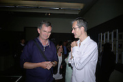 Martin Parr and Geoff Dyer, How We Are- Photographing Britian. Opening at the Tate. Millbank. 21 May 2007.  -DO NOT ARCHIVE-© Copyright Photograph by Dafydd Jones. 248 Clapham Rd. London SW9 0PZ. Tel 0207 820 0771. www.dafjones.com.