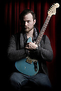 Portraits of the Icelandic musician Asgeir Trausti taken on-location at The Slipper Room, NYC. March 11, 2013. Copyright © 2013 Matthew Eisman. All Rights Reserved.