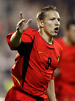 Fotball<br /> EM-kvalifisering<br /> 10.09.2003<br /> Belgia v Kroatia<br /> NORWAY ONLY<br /> Foto: Phot News/Digitalsport<br /> <br /> WESLEY SONCK