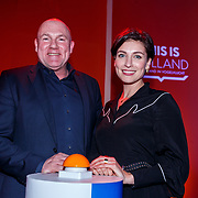NLD/Amsterdam/20180201 - Presentatie This is Holland, Andre Kuipers en Vivienne van Assem