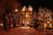 An image from the series Season's Greetings, documenting Christmas in my native North Carolina.<br /> <br /> Live nativity at Wake Forest Baptist Church.