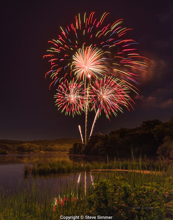 Bloomington, MN holds their Independence Day celebration on July 3rd. Their fireworks show is among the best in the state. And such a scenic setting on Normandale Lake.