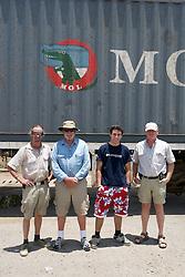 Kevin, Richard, George & Piers