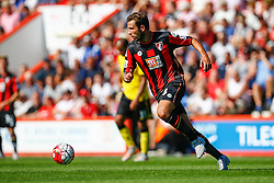 Steve Cook of AFC Bournemouth in action - Mandatory by-line: Jason Brown/JMP - Mobile 07966 386802 08/08/2015 - FOOTBALL - Bournemouth, Vitality Stadium - AFC Bournemouth v Aston Villa - Barclays Premier League - Season opener